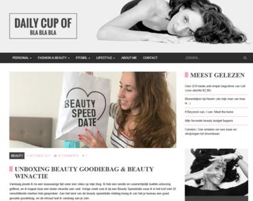 Aquarius Haircare - Daily Cup of Bla Bla