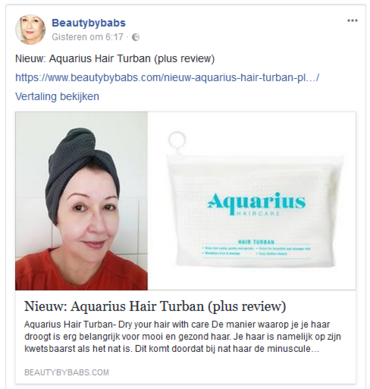 Aquarius Haircare Beautybybabs