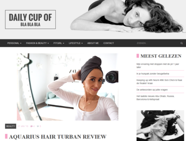Aquarius Haircare - Daily cup of blablabla
