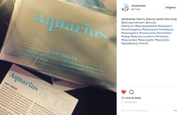 Aquarius Haircare -Anneloes Tas