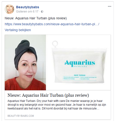 Aquarius Haircare Beautybybabs