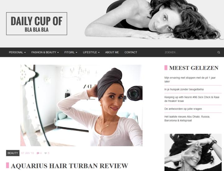 Aquarius Haircare - Daily cup of blablabla
