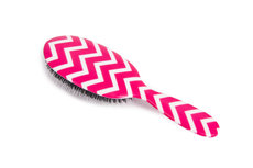 Rock & Ruddle Neon Pink Chevron Haarborstel