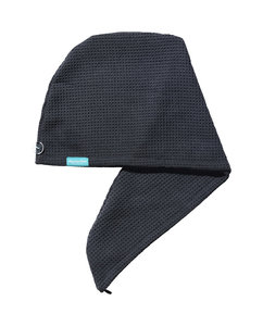 Aquarius Hair Turban Dark Grey
