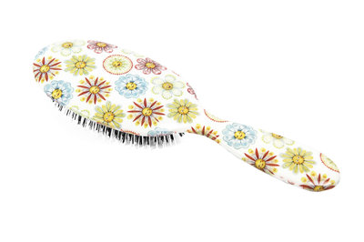 Rock & Ruddle Bloemen & Gezichten Haarborstel