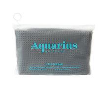 Aquarius Hair Turban Dark Grey